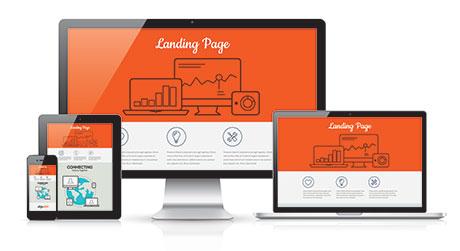 Lead Generation Landing Page Design