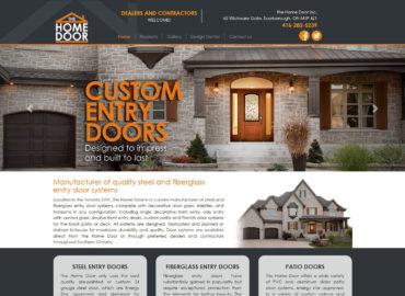 Home Page Door